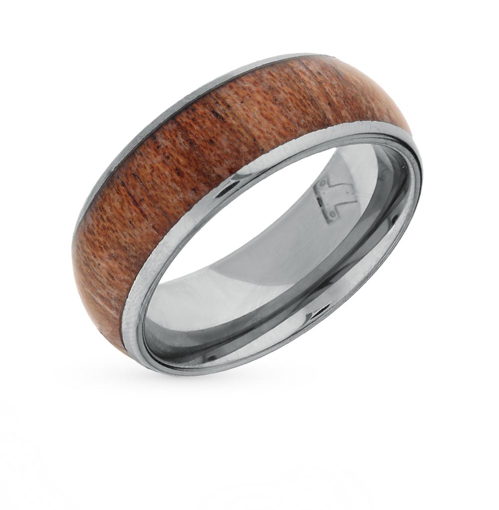 Фото «кольцо из вольфрама с деревом»