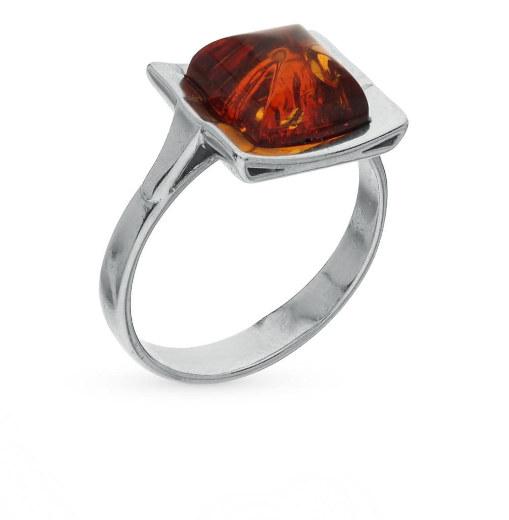 Фото «серебряное кольцо с янтарями»