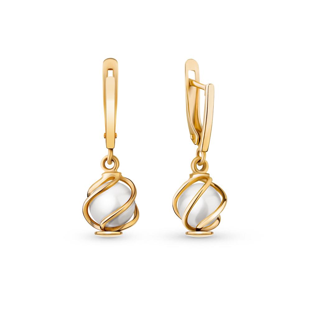 Фото «золотые серьги с жемчугами»