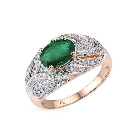 Фото «кольцо с изумрудами»