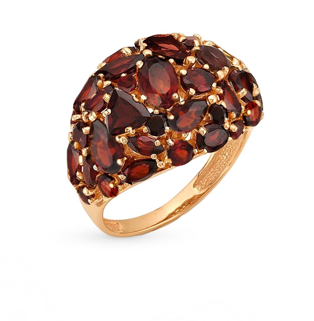 Фото «золотое кольцо с гранатами»