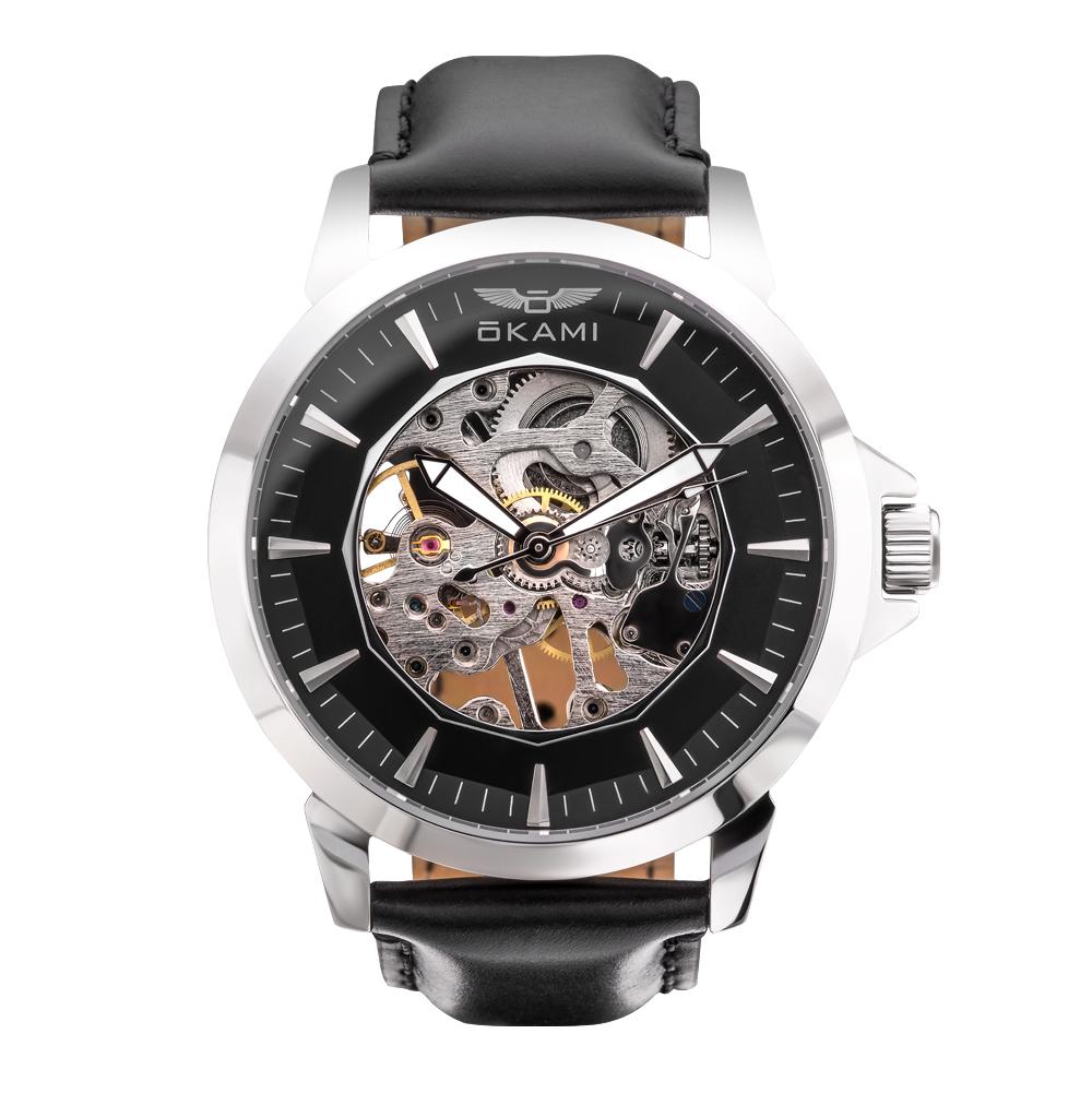 Фото «часы унисекс механические с ручным подзаводом»