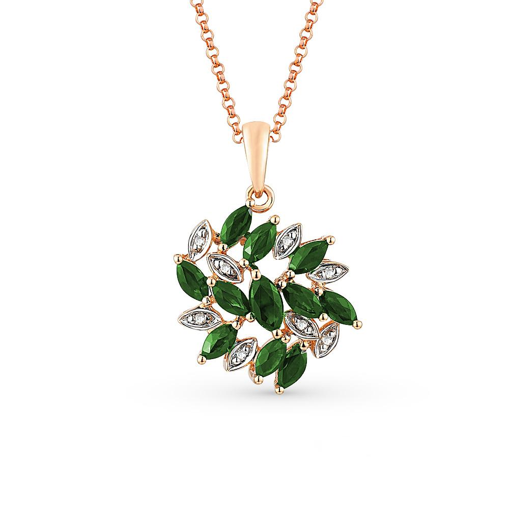 Фото «подвеска с бриллиантами»