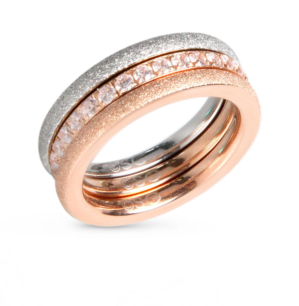 Фото «кольцо из стали с фианитом»