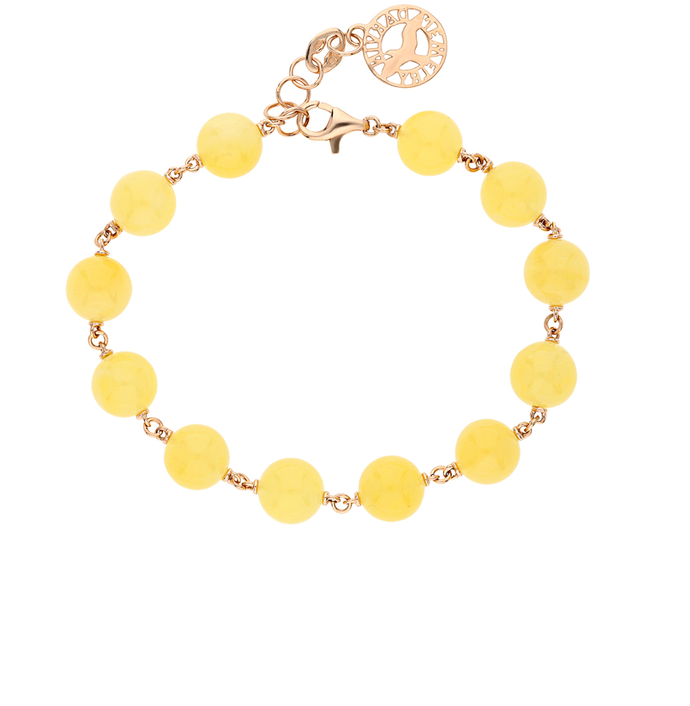 Фото «золото браслет с янтарем»