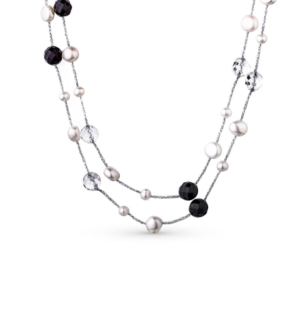 Фото «серебряное шейное украшение с алпанитами»