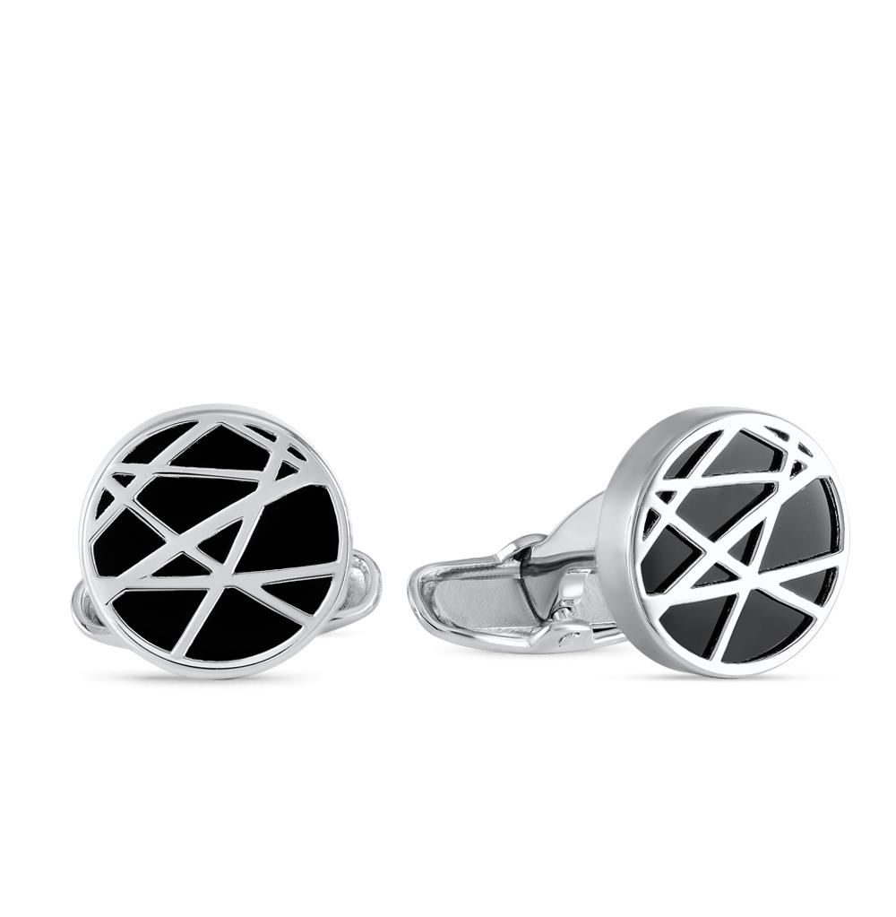 Фото «запонки из серебра с агатом»